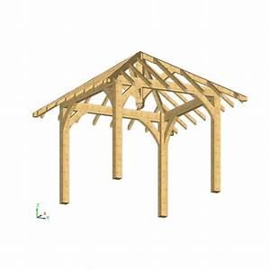 Charpente Traditionnelle Bois En Kit : kiosque en bois en kit ~ Premium-room.com Idées de Décoration