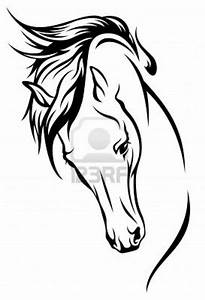 Jumping Horse Outline Tattoo | www.pixshark.com - Images ...