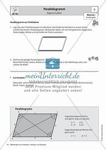 Flächeninhalt Parallelogramm Berechnen : stationenlernen zu vierecken eigenschaften fl cheninhalt umfang und beispiele meinunterricht ~ Themetempest.com Abrechnung