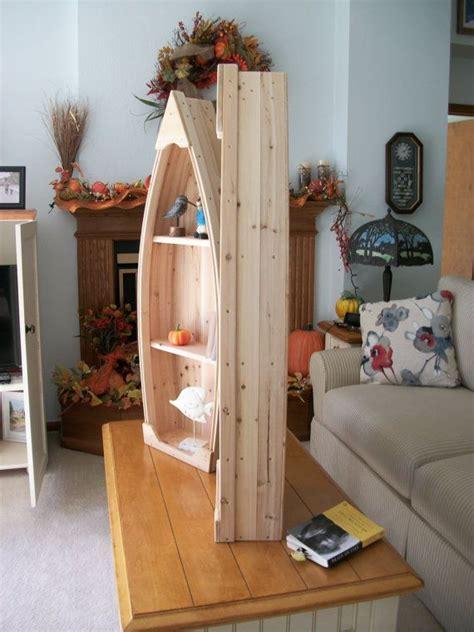 Unfinished Boat Bookshelf by 4 Foot Unfinished Row Boat Shelf Bookcase Bookshelf