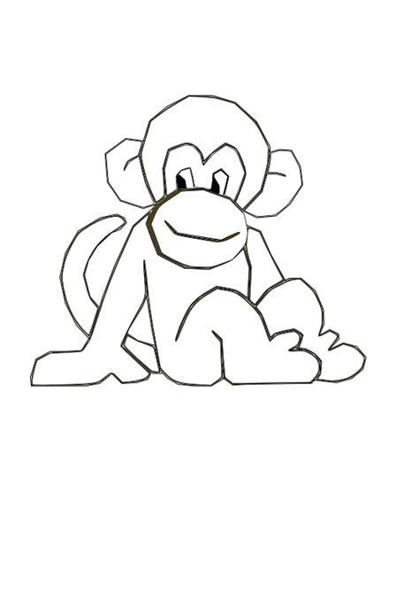 Pin by Tanisha Ruff on Monkeys | Coloring books, Line art, Cute monkey