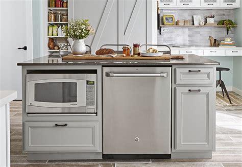 kitchen island microwave storage ideas for small kitchens 1954