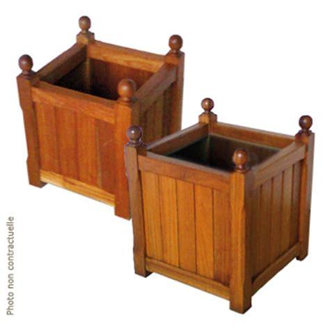 mobilier jardin bois am 233 nagement urbain bac 224 plantes