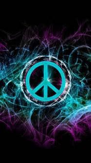 Cool Peace Sign iPhone Wallpaper