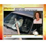 Car Accident Wendy Cobb Video