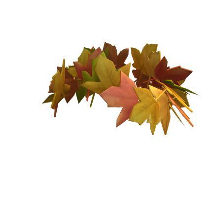 crown  fall leaves roblox wikia fandom
