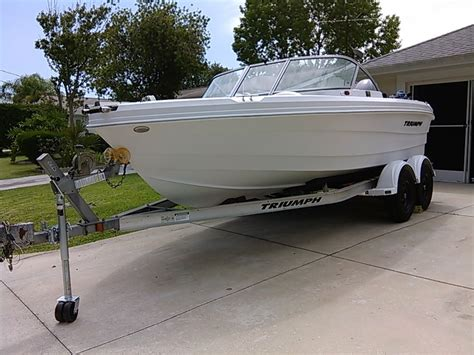 Triumph Boats 191 Fs by Triumph 191 Fs 2007 For Sale For 19 900 Boats From Usa