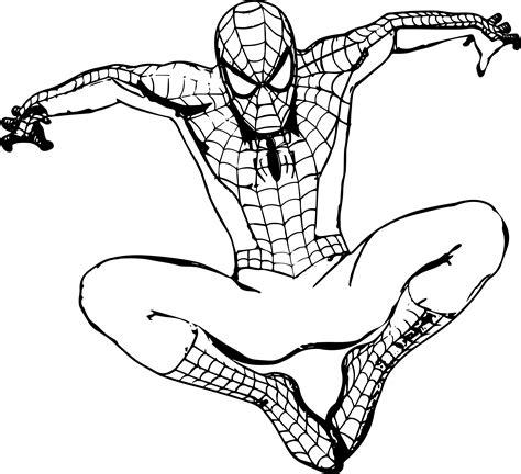 Spiderman Cartoon Drawing At Getdrawingscom Free For