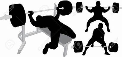 Lifting Weight Clipart Cartoon Bench Clipartmag