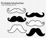 Mustache Coloring Printable Moustache Clipart Pikpng Copyright sketch template