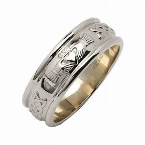 ladies wide rounded claddagh wedding ring silver from With womens claddagh wedding ring