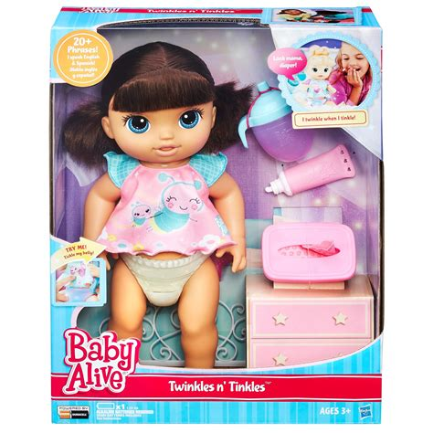 Amazon.com: Baby Alive Twinkles 'n Tinkles (Brunette