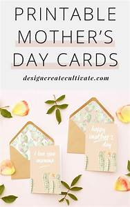 Free Printable Mother's Day Cards - Design. Create. Cultivate.