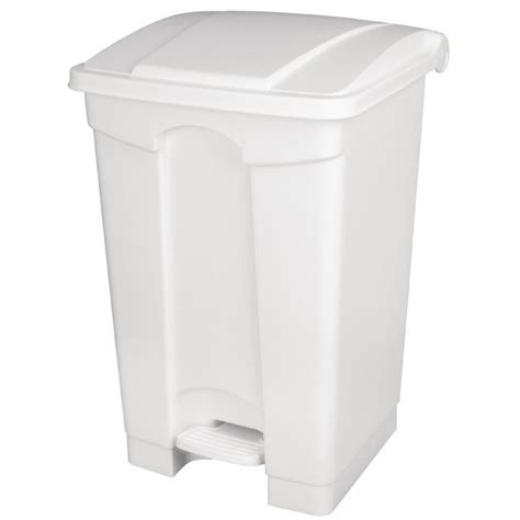 poubelle de cuisine blanche poubelle de cuisine à pédale blanche 45l
