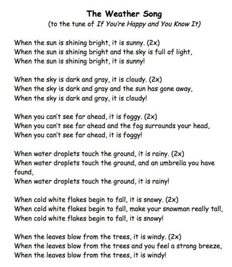 a weather song i wrote to help children with weather 276 | 9a354a101d258e2cef09069f46cb6fd1