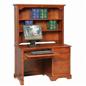 elegance economy computer desk amish crafted furniture With amish furniture home of economy