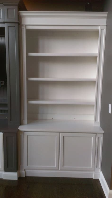 Bookcases With Cabinets by Bookcases C A Custom Woodworking Inc