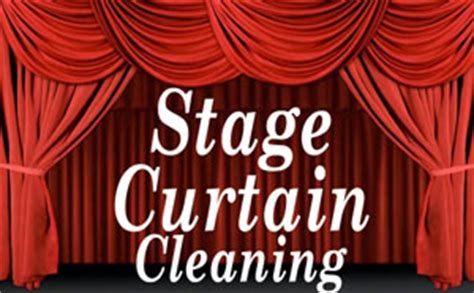 drape drapery curtain stage curtain cleaning