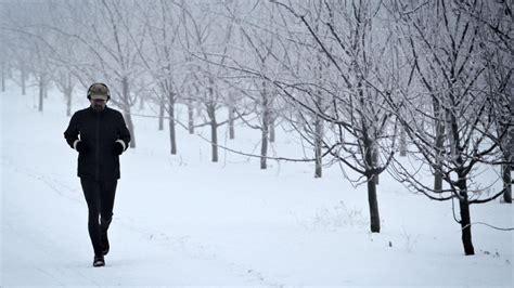 Beim Joggen Im Winter Nicht Zu Warm