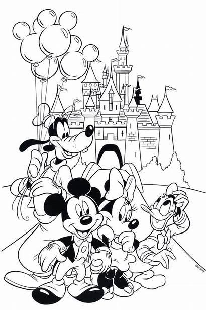 Disney Coloring Pages Printable Disneyland Printables