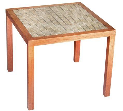 tile top side table chairish