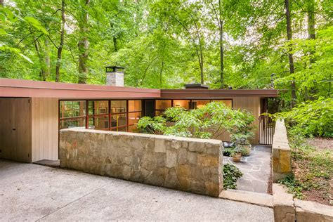 Modern Houses : Midcentury-modern Houses Are In Demand In Atlanta—and At A