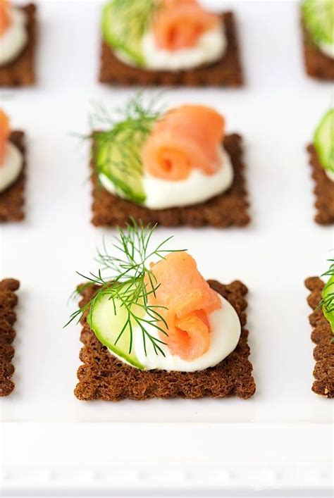 canapé mousse goat cheese mousse and smoked salmon canapés a