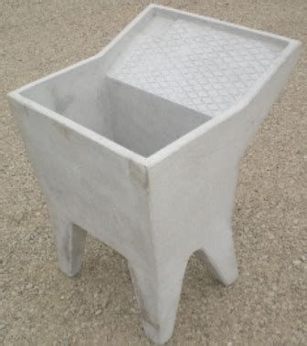 lavello cemento piletta cemento cm 80 icem s r l