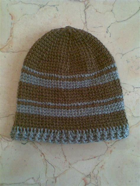 mscrochet tunisian hat