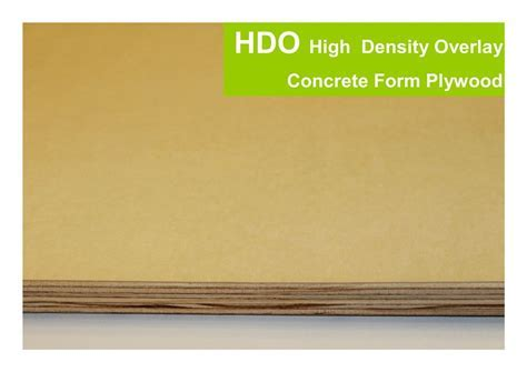 HDO   High Density Overlay Concrete Form Plywood ? TrinityTree
