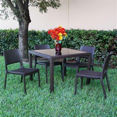 Resin Patio Furniture by Siesta Miami Wickerlook Resin Patio Furniture For Sale