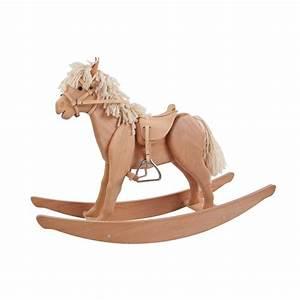 Cheval En Bois à Bascule : cheval bascule en bois de helga kreft ~ Teatrodelosmanantiales.com Idées de Décoration