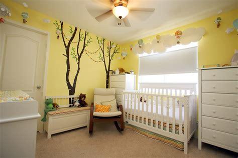 Yellow Baby Nursery Thenurseries