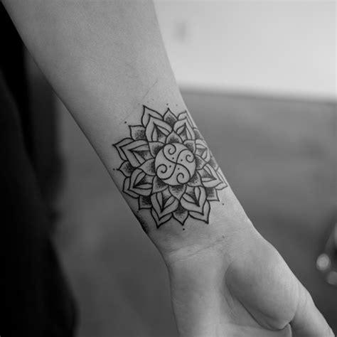 mandala wrist tattoo designs ideas  meaning tattoos
