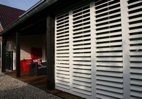veranda shutters vaste en verstelbare lamellen isoluik