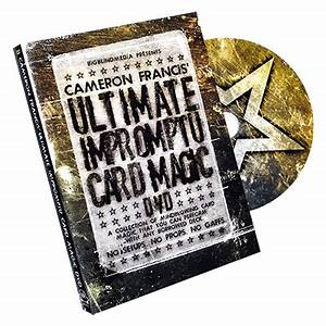 Ultimate Impromptu Card Magic by Cameron Francis & Big ...