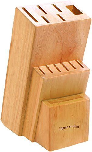 Knife Set with Wooden Block 13 Piece ? Chef Knife, Bread