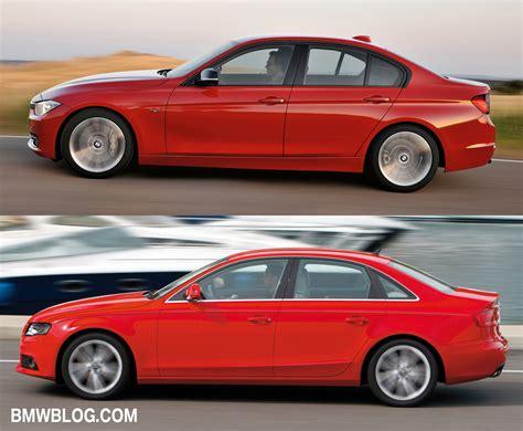 Audi A4 Vs. 2012 Bmw 3 Series