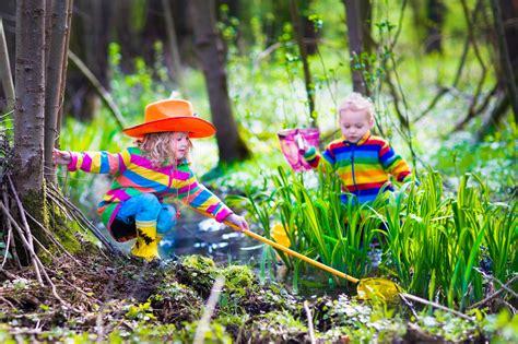 classic outdoor activities  children  autism