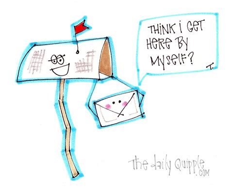 thanks mail carrier warming up thank a mailman day the daily quipple