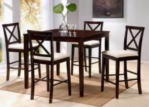 contemporary dinette decoration with brown finish