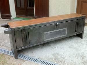 Casier Vestiaire Industriel : d capage atelier esprit loft indus 39 ~ Teatrodelosmanantiales.com Idées de Décoration