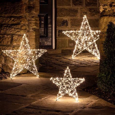 led stern weihnachtsdeko aussen cm lightsfunde