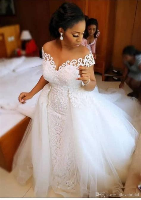 african  size overskirts wedding dresses