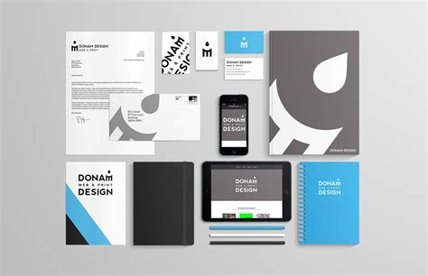 Design Brand by Branding For Print Web Designer Cornwall Staionary