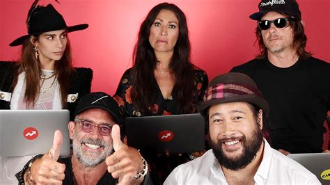 This video highlights the voice talent behind the walking dead: The Walking Dead Cast Tests Their Survival Skills on ...