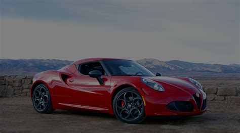 Alfa Romeo 4c Coupe Spider  Centerline International