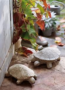 Cale Porte Animaux : cale porte tortue en b ton marie claire ~ Teatrodelosmanantiales.com Idées de Décoration