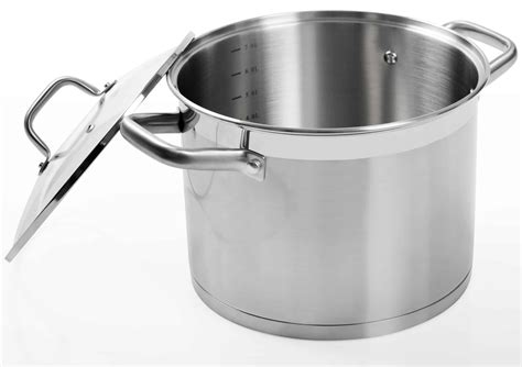 cookware duxtop induction pot compatible ssib stainless steel