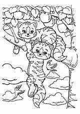 Coloring Pages Tiger Lisa Frank Printable Colouring Easy Cute Tulamama Sheets Adult Cat Colors sketch template